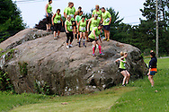 Photo by Kevin Bartram<br /> The Gaylord Gauntlet 5K on Saturday, June 27, 2015 at Gaylord Specialty Healthcare in Wallingford, CT.