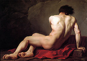Jacques-Louis David (30 August 1748 – 29 December 1825) was a highly influential French painter in the Neoclassical style, Patroclus, 1780