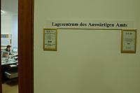 14 DEC 2001, BERLIN/GERMANY:<br /> Schilder am Buero des Beamten vom Dienst, Krisenreaktionszentrum, Lagezentrum, Auswaertiges Amt<br /> IMAGE: 20011214-01-001<br /> KEYWORDS: Auswärtiges Amt