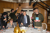 Jean Paul Dubois Lauréat du Goncourt 2019 Prix Goncourt 2019 Restaurant Drouant Lundi 4 Novembre 2019 Paris