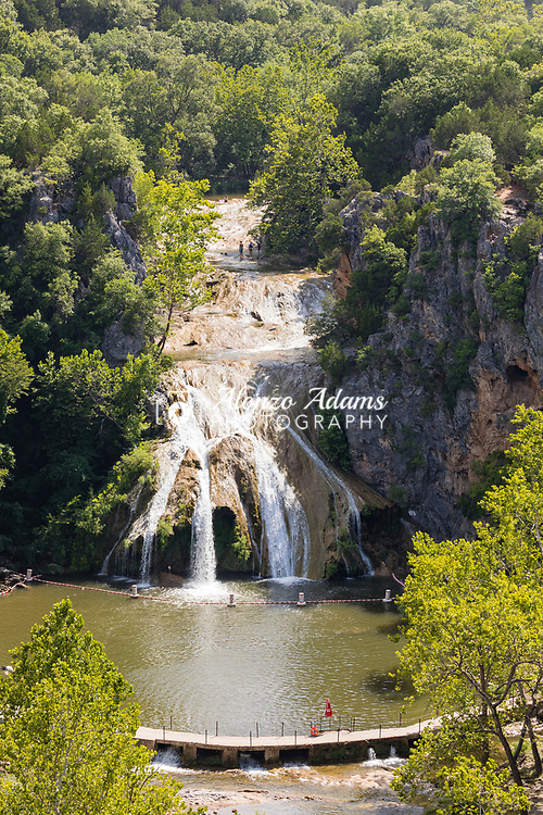 Turner Falls on Wednesday, July 8, 2020. Photo copyright © 2020 Alonzo Adams.