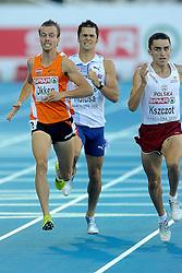 30-07-2010 ATLETIEK: EUROPEAN ATHLETICS CHAMPIONSHIPS: BARCELONA<br /> Okken loopt naar vierde plaats in EK-finale. Hij moest de Pool Adam Kszczot voor laten.<br /> ©2010-WWW.FOTOHOOGENDOORN.NL