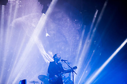 June 24, 2017 - Glastonbury, United Kingdom - Image licensed to i-Images Picture Agency. 23/06/2017. Glastonbury, United Kingdom. Radiohead playing at the  Glastonbury Festival, United Kingdom.  Picture by i-Images (Credit Image: © i-Images via ZUMA Press)