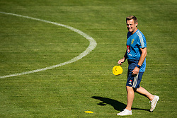 July 4, 2018 - Gelendzhik, Russia - 180704 Performance Manager Paul Balsom of the Swedish national football team at a practice session during the FIFA World Cup on July 4, 2018 in Gelendzhik..Photo: Petter Arvidson / BILDBYRN / kod PA / 92081 (Credit Image: © Petter Arvidson/Bildbyran via ZUMA Press)