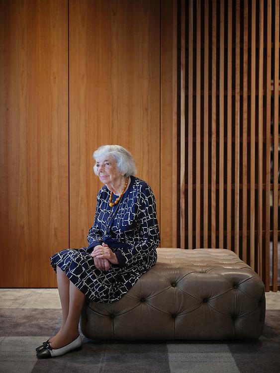 Germany, Berlin, 2021/09/02<br /> <br /> Margot Friedländer shortly before her 100th birthday. <br /> (Photo by © Gregor Zielke)