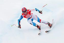 08.01.2012, Weltcupabfahrt Kaernten – Franz Klammer, Bad Kleinkirchheim, AUT, FIS Weltcup Ski Alpin, Damen, Super G, im Bild Fraenzi Aufdenblatten (SUI) // Fraenzi Aufdenblatten of Switzerland during ladies Super G at FIS Ski Alpine World Cup at 'Kaernten – Franz Klammer' course in Bad Kleinkirchheim, Austria on 2012/01/08. EXPA Pictures © 2012, PhotoCredit: EXPA/ Johann Groder