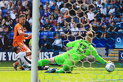 Barry Douglas of Wolverhampton Wanderers scores his sides first goal - Mandatory by-line: Matt McNulty/JMP - 21/04/2018 - FOOTBALL - Macron Stadium - Bolton, England - Bolton Wanderers v Wolverhampton Wanderers - Sky Bet Championship