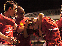 Photo. Jed Wee. Digitalsport<br /> Manchester United v Fenerbahce SK, UEFA Champions League, 28/09/2004.<br /> Manchester United debutant Wayne Rooney