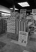 1966 Displays at Rocks Stores Supermarket