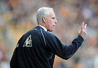 Molineux Wolverhampton v Coventry (2-1)  Championship 18/10/2008<br /> Wolves Manager Mick McCarthy urges his team on to victory by 2 goals to 1<br /> Photo Roger Parker Fotosports International