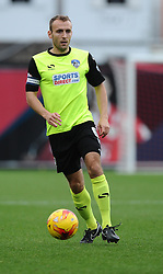 Oldham Athletic's Liam Kelly  - Photo mandatory by-line: Joe Meredith/JMP - Mobile: 07966 386802 - 01/11/2014 - SPORT - Football - Bristol - Ashton Gate - Bristol City v Oldham Athletic - Sky Bet League One
