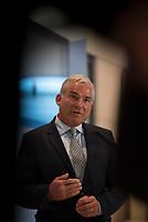 DEU, Deutschland, Germany, Berlin, 11.01.2016: Der stellvertretende CDU-Vorsitzende Thomas Strobl bei einem Pressestatement im Deutschen Bundestag.