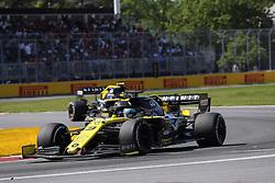 June 9, 2019 - Montreal, Canada - xa9; Photo4 / LaPresse.09/06/2019 Montreal, Canada.Sport .Grand Prix Formula One Canada 2019.In the pic: Daniel Ricciardo (AUS) Renault Sport F1 Team RS19 and Nico Hulkenberg (GER) Renault Sport F1 Team RS19 (Credit Image: © Photo4/Lapresse via ZUMA Press)