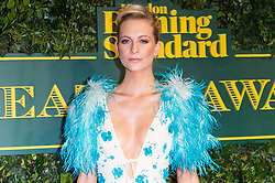 © Licensed to London News Pictures. 03/12/2017. London, UK. POPPY DELEVINGNE attends the London Evening Standard Theatre Awards 2017 held at the Theatre Royal, Dury Lane. Photo credit: Ray Tang/LNP