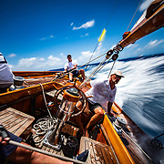 The Blue Peter. 1930 65ft Classic yacht.
