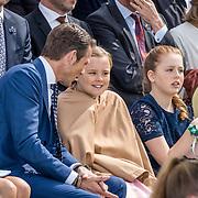 NLD/Tilburg/20170427- Koningsdag 2017, Prins Maurits, Prinses, Ariane, Prinses, Alexia