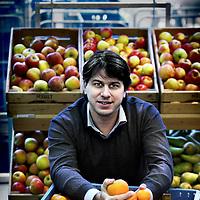 Nederland, Amsterdam , 22 december 2010..Quirijn Bolle, oprichter van Marqt en genomineerde Amsterdammer van het jaar..Foto:Jean-Pierre Jans