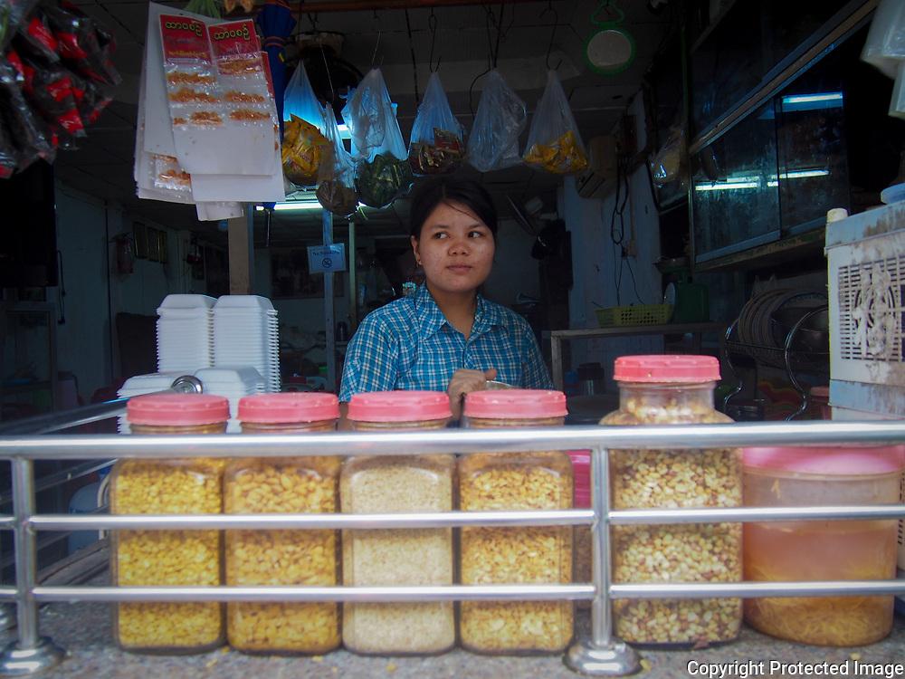 Market Vendor by Naw Aye Aye Thet