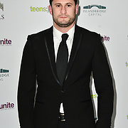 Josh Myers arrivers at The 5th annual fundraiser benefiting Teens Unite, an organization which brings together young people with cancer to tackle loneliness and isolation. The charity's co-founder Karen Millen OBE designs and directs the event at Dorchester Hotel on 30 November 2018, London, UK.
