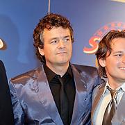NLD/Amsterdam/20111010 - Premiere All Stars 2, Kasper van Kooten en Cas Jansen