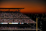 PHILADELPHIA - OCT 10: A general view of the upper deck at Citizens Bank Park at sunset during Game Two of the National League Championship Series between the Philadelphia Phillies and the Los Angeles Dodgers at Citizens Bank Park on October 10, 2008 in Philadelphia, Pennsylvania.The Phillies defeated the Dodgers 8 to 5. *** Local Caption ***
