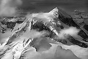 Monte Bove from summit Monte Frances, Cordillera Darwin, Tierra del Fuego, Chile