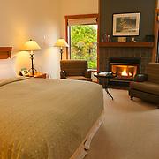 5-star hotel room detail, Vancouver Island, British Columbia