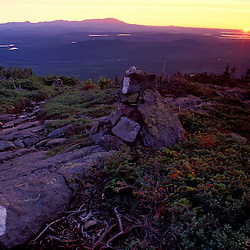 White Cap Mountain, ME. The Appalachian Trail in Maine's Piscataquis Mountains. Mt. Katahdin. Northern Forest.