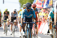 Nairo Quintana (COL - Movistar) during the 105th Tour de France 2018, Stage 9, Arras Citadelle - Roubaix (156,5km) on July 15th, 2018 - Photo Luca Bettini / BettiniPhoto / ProSportsImages / DPPI
