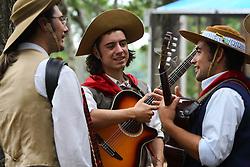 Trovadores no 12 Rodeio Internacional do Mercosul. FOTO: Jefferson Bernardes/Preview.com