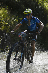 October 2, 2018 - Shimla, India - Holger Schaarschmidt of Germany competes at the 14th edition of the Hero MTB Himalaya mountain bike race in the northern Indian state of Himachal Pradesh on 3rd October, 2018. The 14th edition of the annual cross country race is taking place over eight stages in the foothills of the Himalaya, started in Shimla on September 28, 2018 and finishing in Dharamshala on October 6,2018. (Credit Image: © Indraneel Chowdhury/NurPhoto/ZUMA Press)