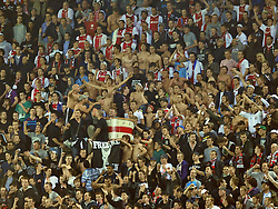 02.11.2011, Amsterdam Arena. Amsterdam, NED, UEFA Champions League, Vorrunde, Ajax Amsterdam (NED) vs Dinamo Zagreb (CRO), im Bild Ajax supporters// during Ajax Amsterdam (NED) vs Dinamo Zagreb (CRO), at Amsterdam Arena, Amsterdam, NED, 2011-11-02. EXPA Pictures © 2011, PhotoCredit: EXPA/ nph/                                                                                                     Foto ©  nph / PIXSELL / Marko Lukunic       ****** out of GER / CRO  / BEL ******