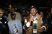 """Russell Simmons at The Russell Simmons and Spike Lee  co-hosted """"I AM C.H.A.N.G.E!"""" Get out the Vote Party presented by The Source Magazine and The HipHop Summit Action Network held at Home on October 30, 2008 in New York City"""