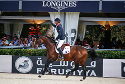 De Ponnat Aymeric (FRA) - Armitage Boy<br /> Furusiyya FEI Nations Cup Jumping Final <br /> CSIO Barcelona 2013<br /> © Dirk Caremans
