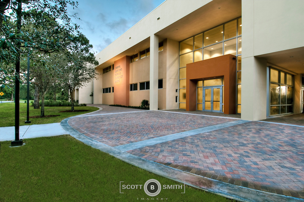 Newly constructed science / lab building for St. Thomas University in Miami, Florida.
