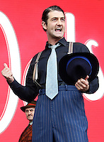 West End Live 2016; Trafalgar Square; London UK; 18-19 June 2016; Photo by Brett D. Cove; Guys & Dolls; Oliver Tompsett
