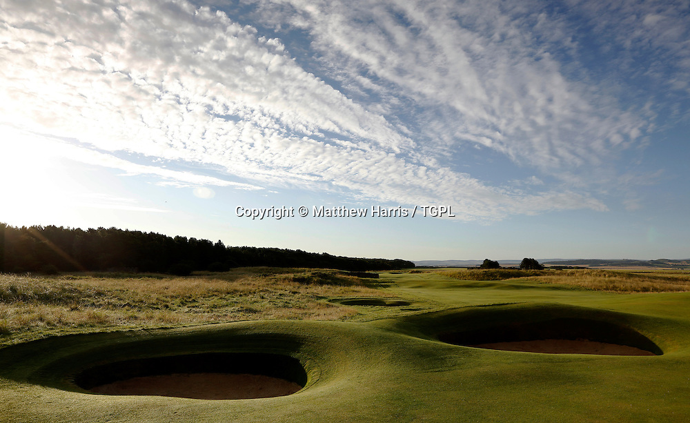 6th par 4 Muirfield,The Honourable Company Of Edinburgh Golfers,Gullane,East Lothian,Scotland.Venue for the 2013 Open Championship,with Ernie ELS (RSA) defending his title,and who was also the winner here in 2002.