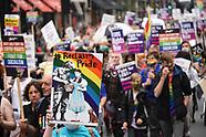 Reclaim Pride protest