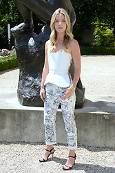 Annabelle Wallis attending the Christian Dior Haute Couture Paris Fashion Week Fall/Winter 2018/19 held at Musee Rodin in Paris, France on july 02, 2018. Photo by Aurore Marechal/ABACAPRESS.COM