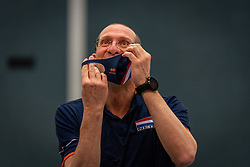 Coach Roberto Piazza of Netherlands during the Olaf Ratterman Memorial match between Netherlands vs. Eredivisie All Star team on May 03, 2021 in Barneveld.