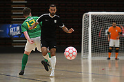 Capital player Lucas Da Silvre in the Mens Futsal Superleague match, Central v Capital, Pettigrew Green Arena, Napier, Saturday, September 28, 2019. Copyright photo: Kerry Marshall / www.photosport.nz