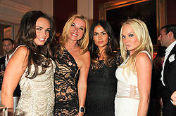 Left to right, TAMARA ECCLESTONE, JACQUI BRANTJES, MARYAM NOURIAN and KATHRINE FREDRIKSEN at a party to celebrate Tamara Ecclestone's 28th birthday held in Tyringham, Newport Pagnell, Bucks on15th June 2012.