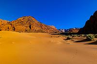 Sand dunes, Snow Canyon State Park near St. George, Utah USA.