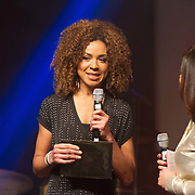 NLD/Amsterdam/20160202 - Uitreiking 100% NL Awards 2015, Amara Onwuka
