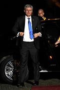 Koning Willem Alexander en Koningin Maxima ontvangen  de delegatieleiders van de Nuclear Security Summit (NSS) voor een diner op Paleis Huis Ten Bosch in Den Haag.<br /> <br /> King Willem Alexander and Queen Maxima receive the heads of delegation of the Nuclear Security Summit (NSS) for a dinner at the palace Huis Ten Bosch in The Hague.<br /> <br /> Op de foto / On the photo:  De Canadese premier Stephen Harper / Canadian Prime Minister Stephen Harper