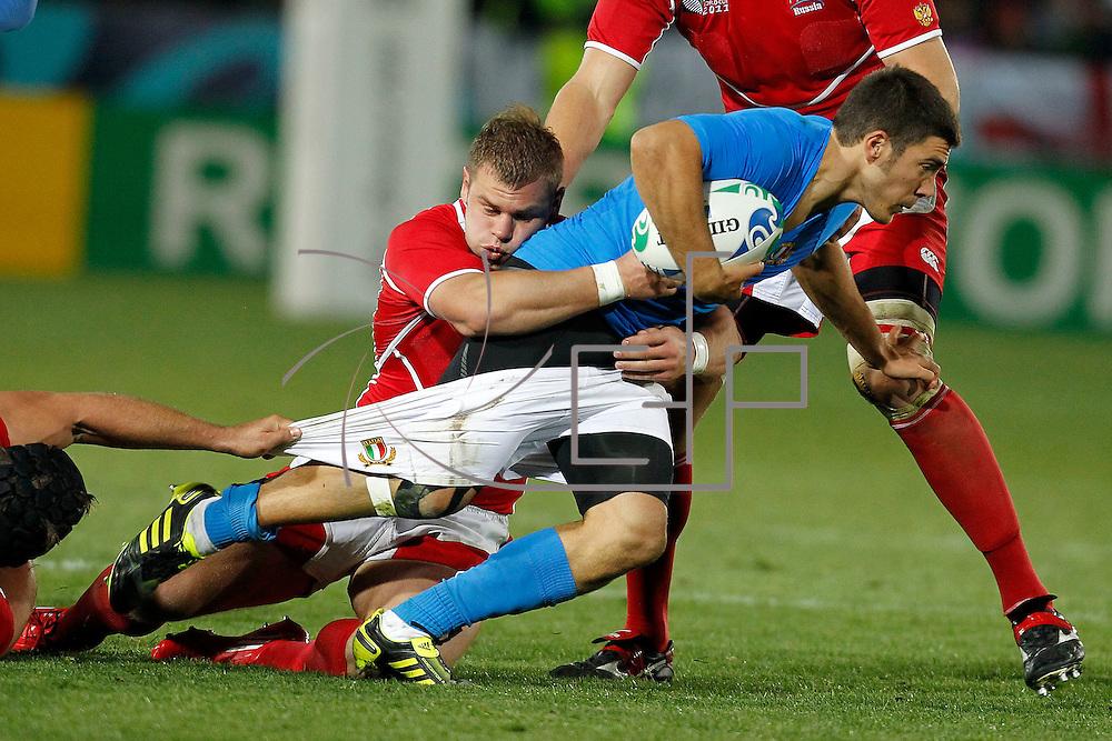 Nelson 20/09/2011 Trafalgar Park <br /> Rugby World Cup : Italy vs Russia<br /> Edoardo Gori