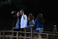 April 30, 2017 - SãO Paulo, Brazil - The Zu Lai Temple, located in Cotia in the metropolitan region of São Paulo - Brazil, is the first Chinese temple of the Fo Guang Shan Monastery in Latin America. (Credit Image: © Ronaldo Silva/Pacific Press via ZUMA Wire)