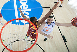Nicolas de Jong of Netherlands during basketball match between Netherlands and Macedonia at Day 2 in Group C of FIBA Europe Eurobasket 2015, on September 6, 2015, in Arena Zagreb, Croatia. Photo by Vid Ponikvar / Sportida