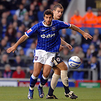 Photo: Ashley Pickering/Sportsbeat Images.<br /> Ipswich Town v Barnsley. Coca Cola Championship. 01/12/2007.<br /> Ipswich front man Pablo Counago on the ball