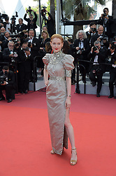 May 25, 2019 - Cannes, France - 72nd Cannes Film Festival 2019, Closing Ceremony Red Carpet. Pictured: Emily Beecham (Credit Image: © Alberto Terenghi/IPA via ZUMA Press)